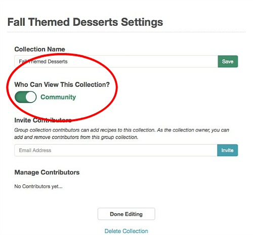 cookbook-create-group-collections-settings