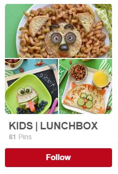 kids lunchbox by fork and beans pinterest board