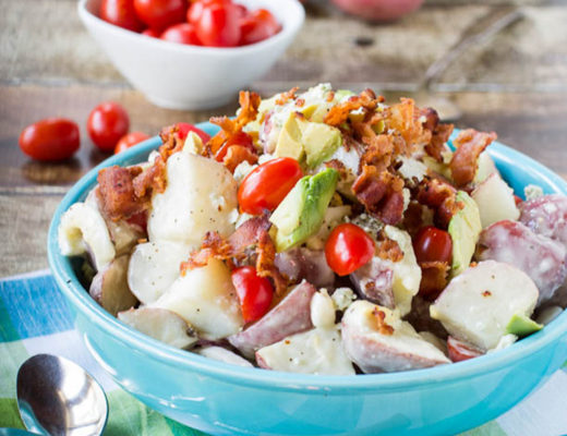 cobb potato salad by spicy southern kitchen