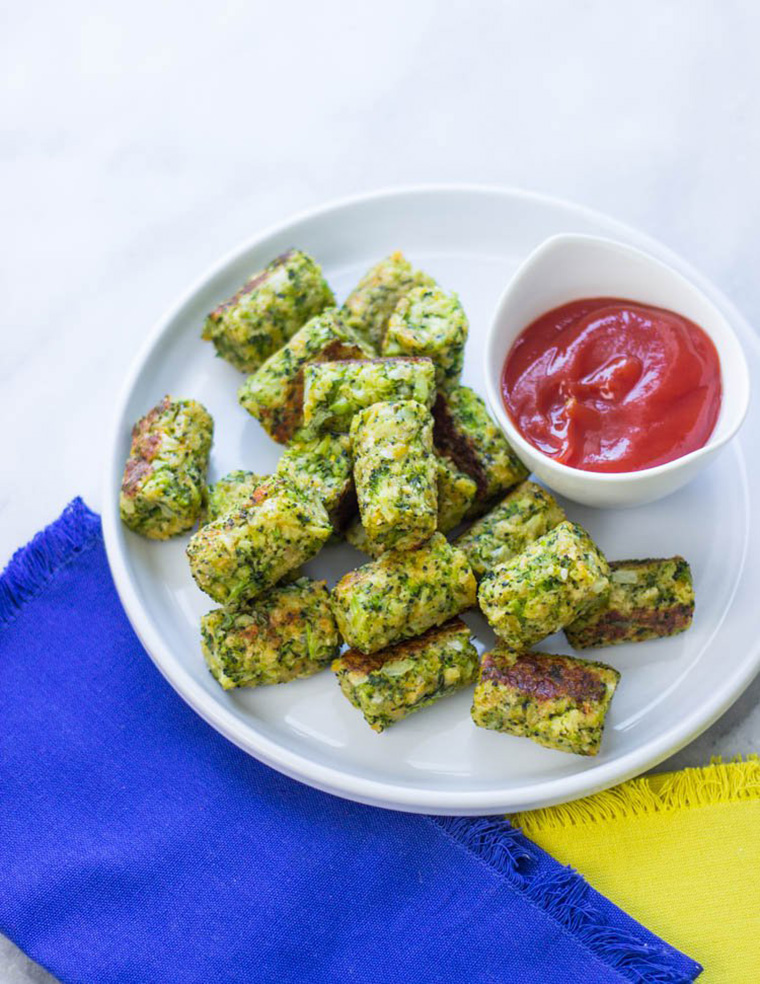 broccoli tots by gimme delicious