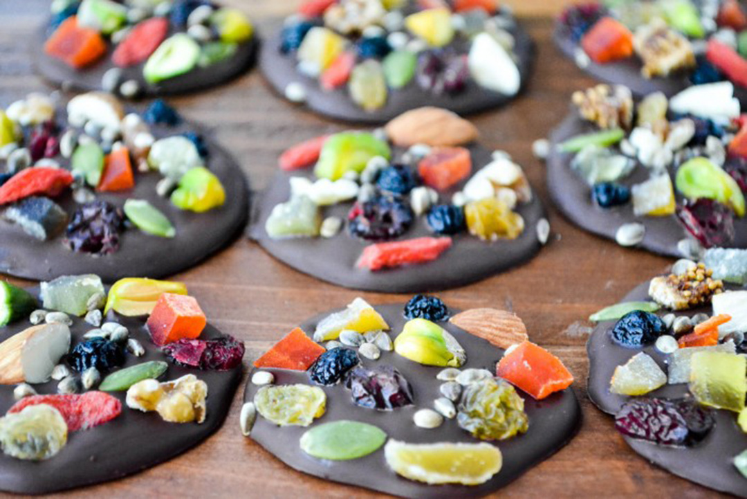 dark chocolate detox bites by the view from great island