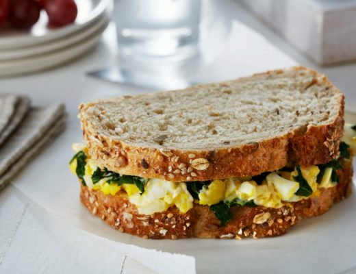 egg salad florentine sandwich kids cook monday