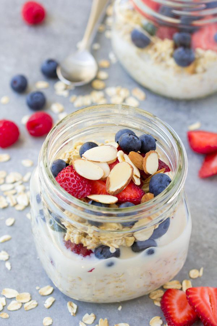 overnight oats by kristine's kitchen