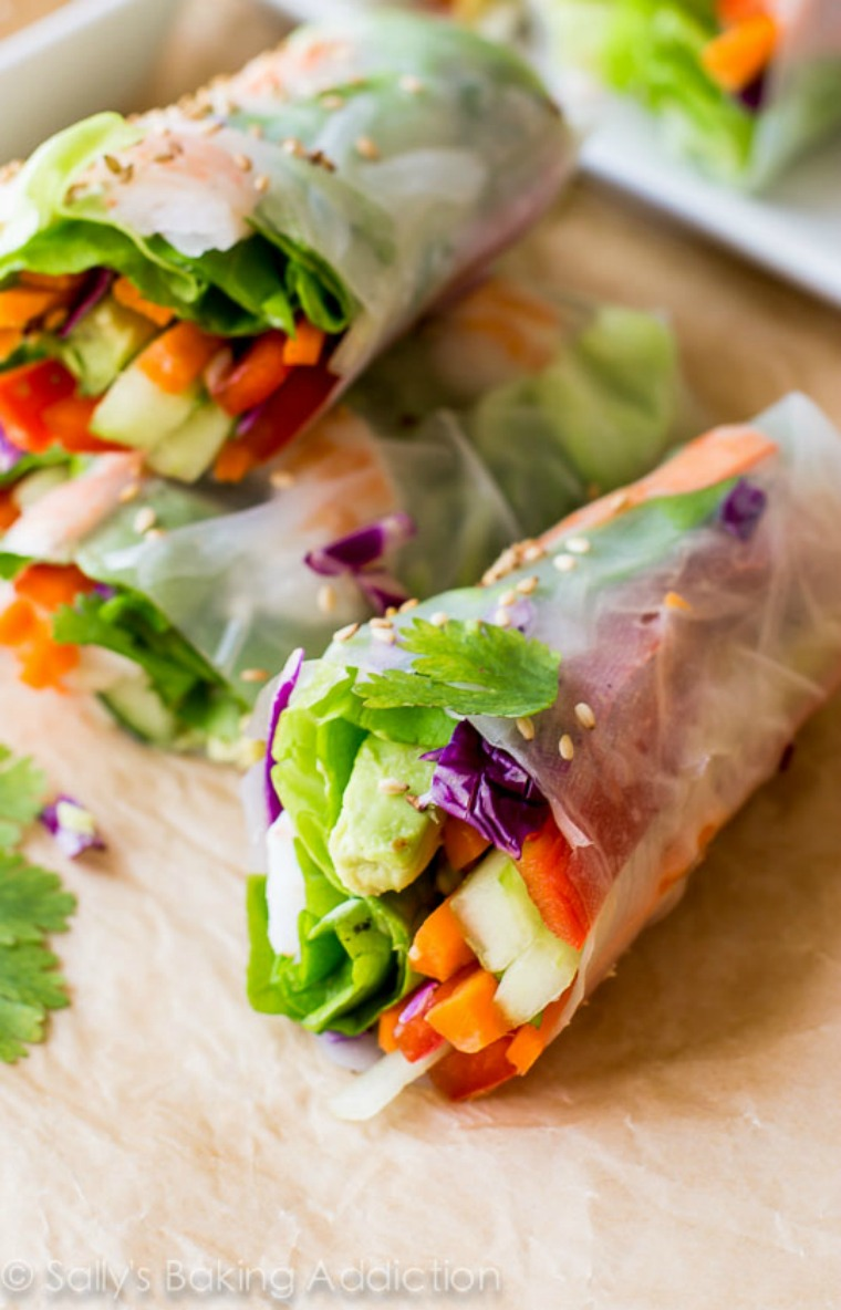 vietnamese summer rolls sally's baking addiction