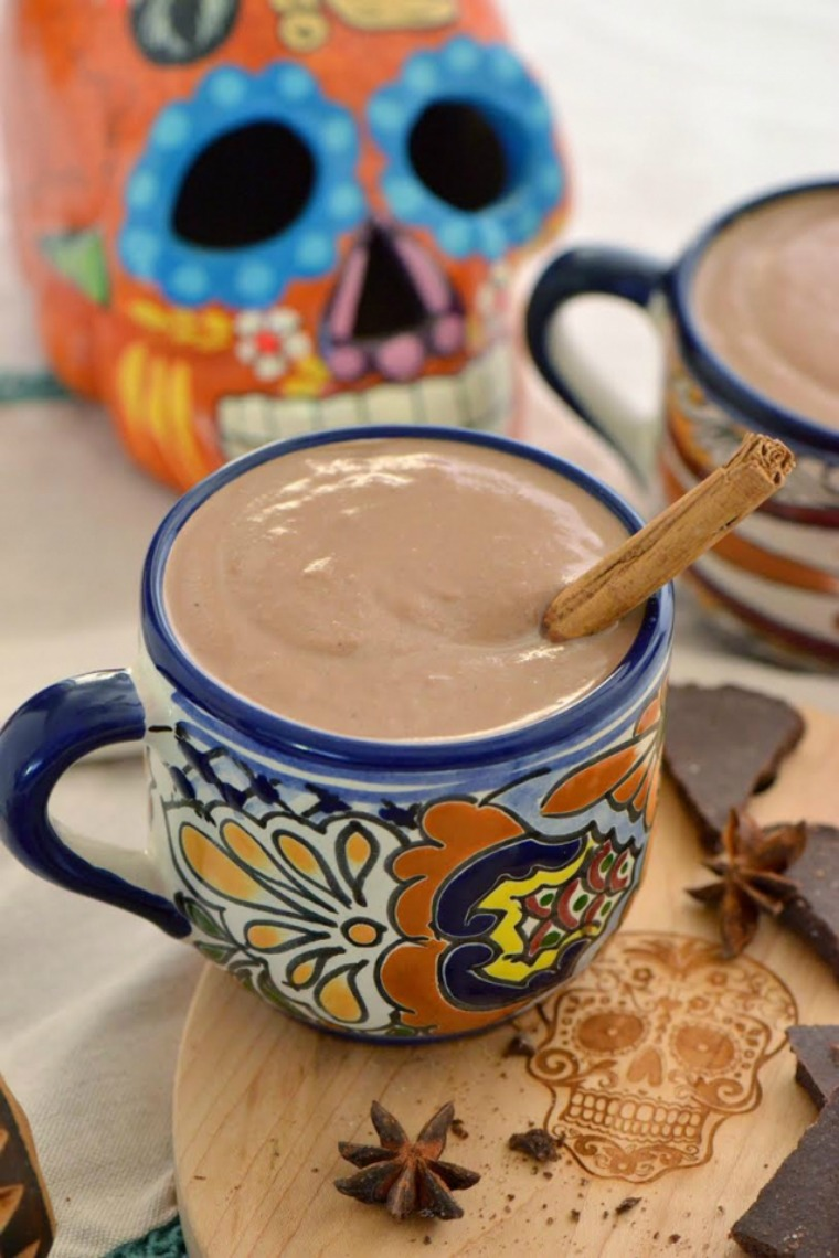 pumpkin champurrado day of the dead nibbles and feasts