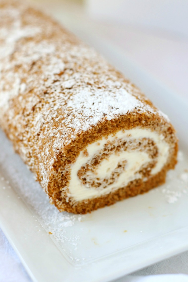 classic pumpkin roll mom loves baking