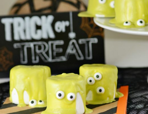 easy halloween monster marshmallows finding zest