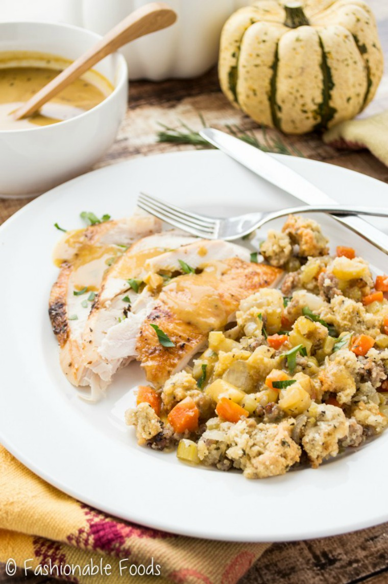 paleo grain free sausage and apple stuffing fashionable foods