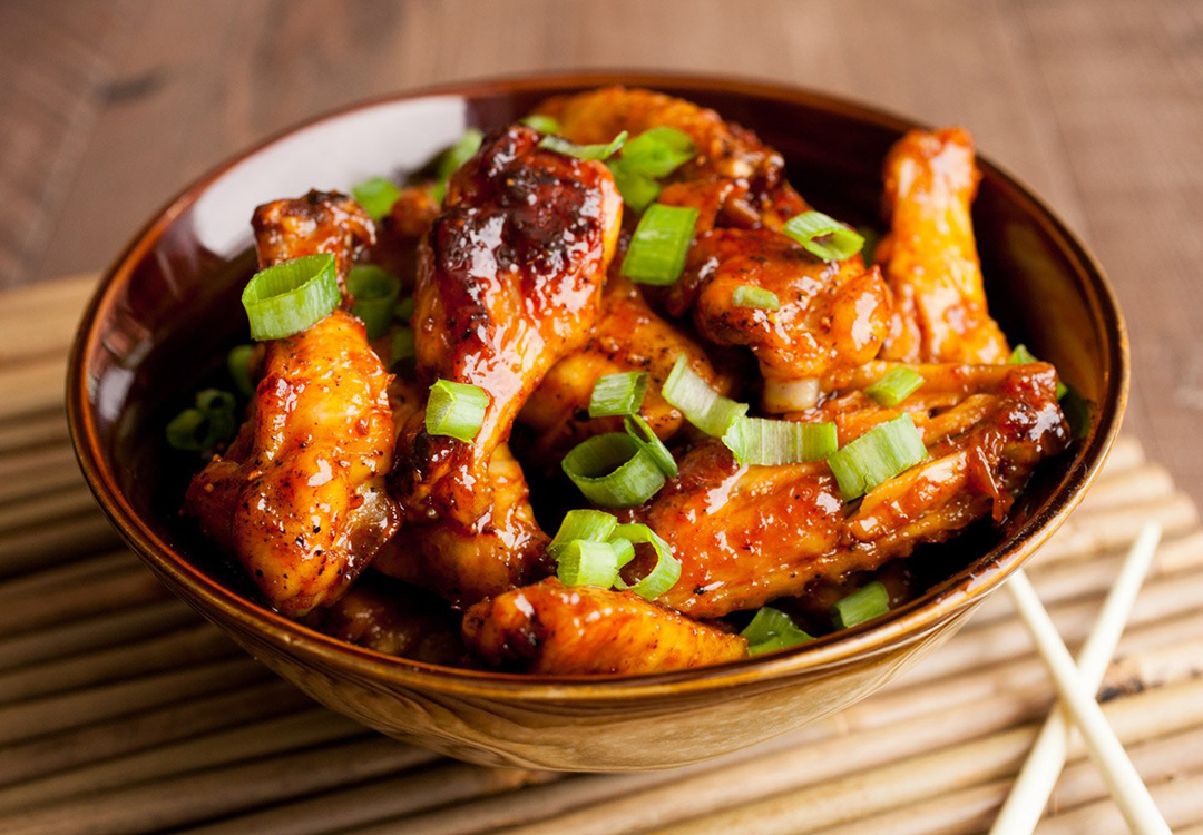 sweet korean chicken wings by macheesmo