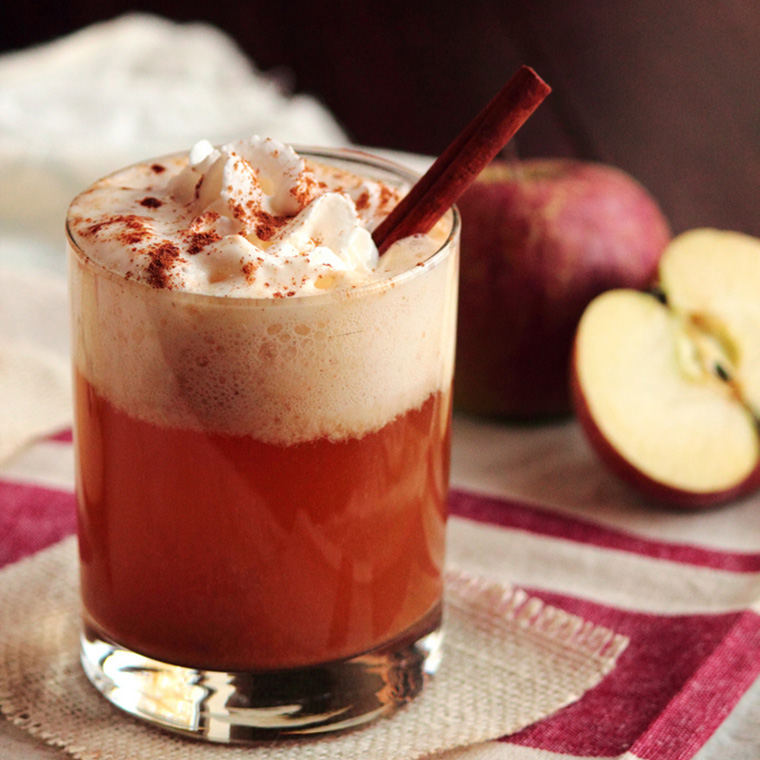 caramel apple cider by a pastry affair