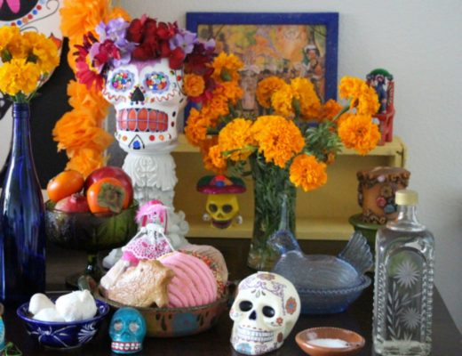 day of the dead altar lolas cocina