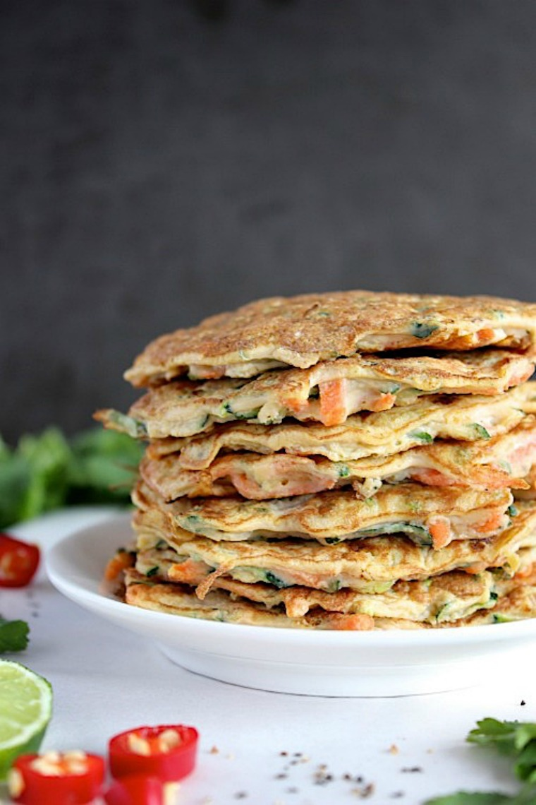 carrot and zucchini fritters better with cake