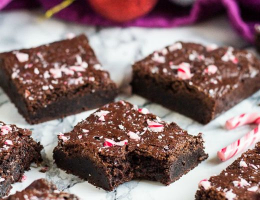 peppermint mocha brownies marshas baking addiction