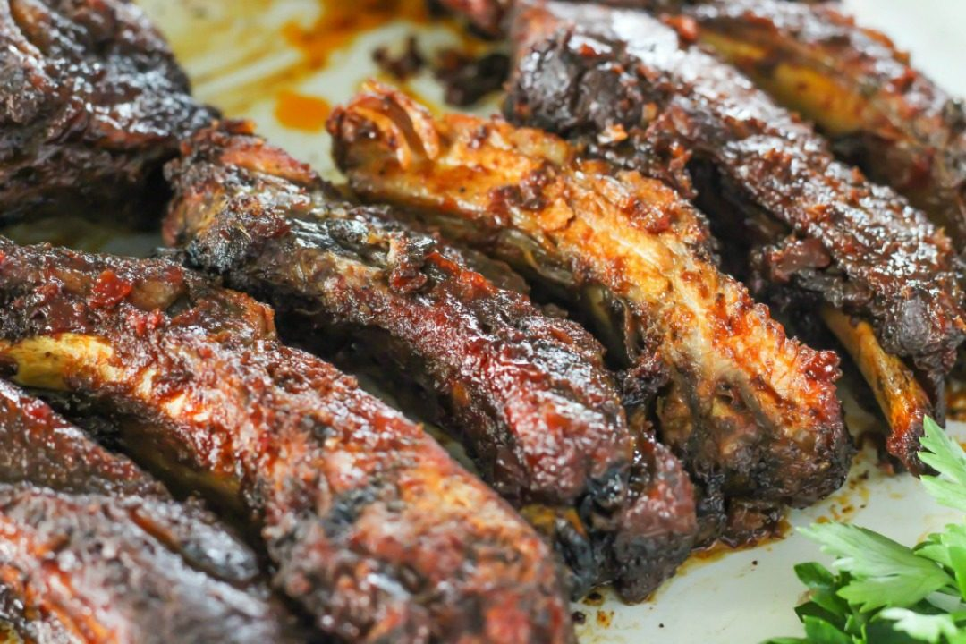 easy slow cooker ribs i heart naptime featured image