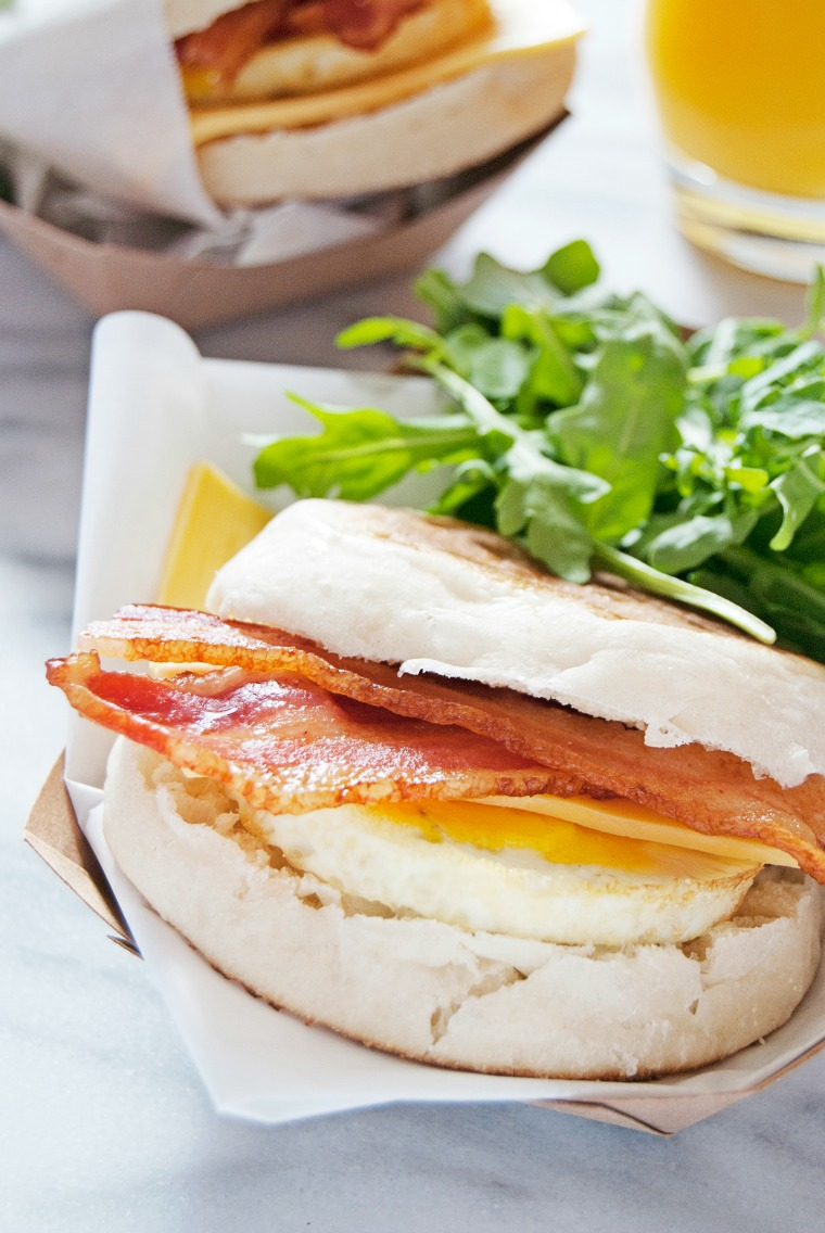 make ahead breakfast sandwiches the charming detroiter