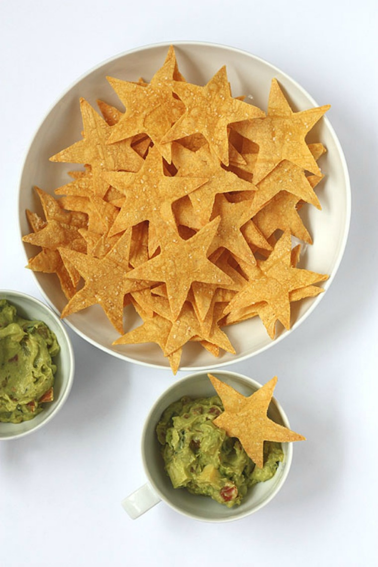 tortilla chip stars not martha