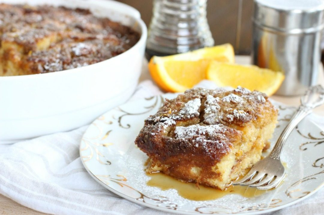 gluten free orange vanilla baked french toast jessicas kitchen