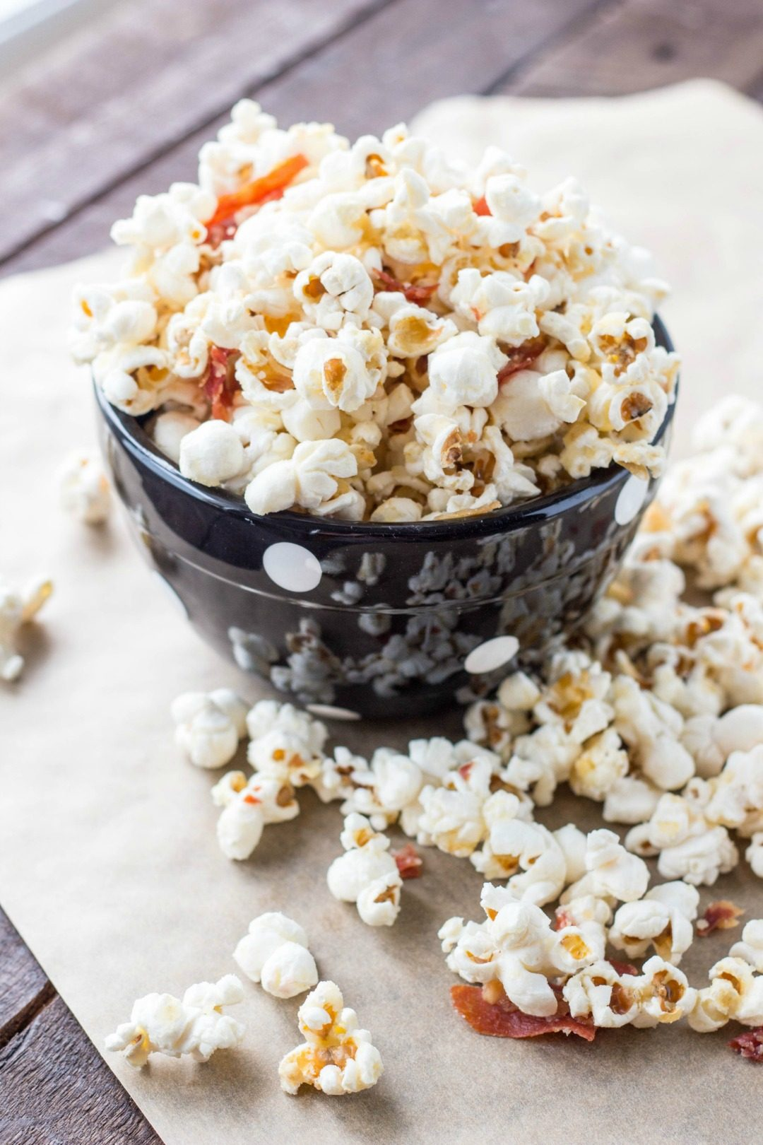 truffled popcorn with parmesan prosciutoo coley cooks featured image