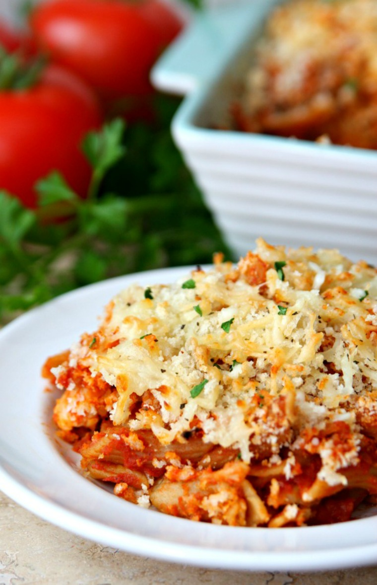 dump and bake chicken parmesan happy go luck blog