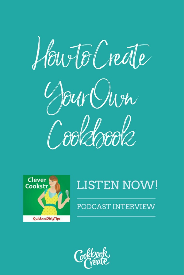cookbook create podcast pin