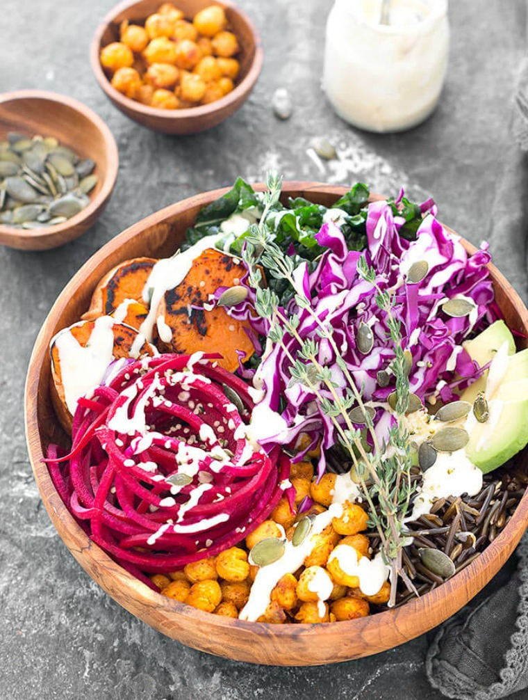 nourishing vegan buddha bowl as easy as apple pie