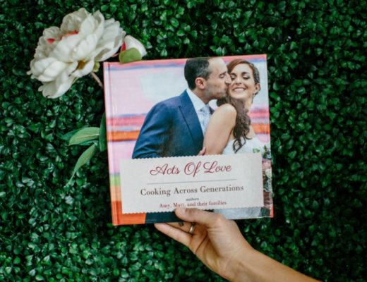 personalized wedding gift cookbook create featured image