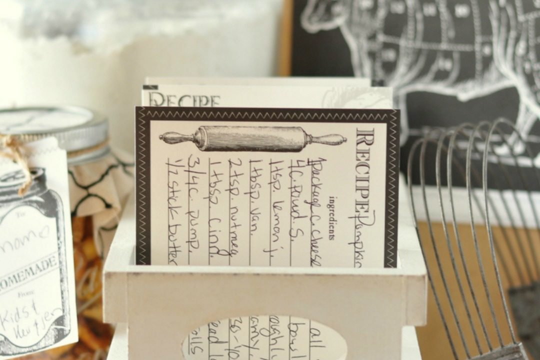 recipe box craft o maniac featured image