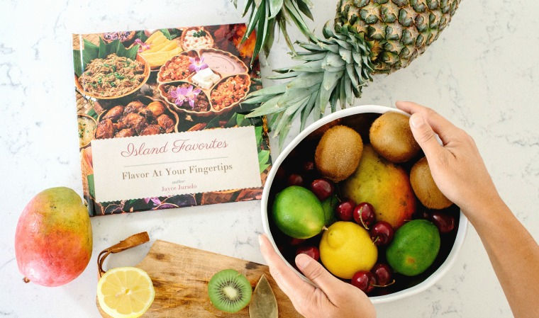 cookbook create island favorites