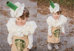 Starbucks Coffee Costume Halloween Nicole Morehead