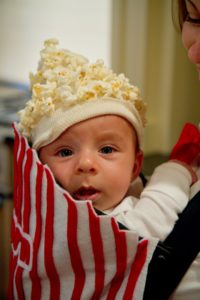 Mom and Baby Movie Popcorn Costume Halloween This Place is Now Home