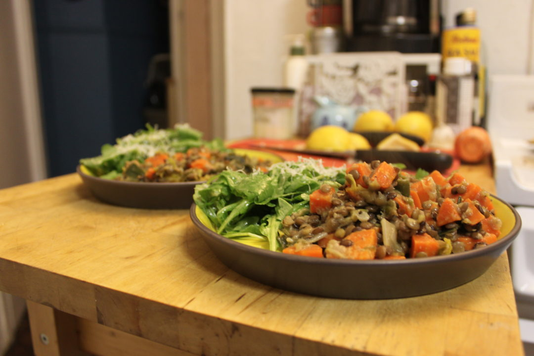 Meatless Monday Ina Gartens Warm French Lentils