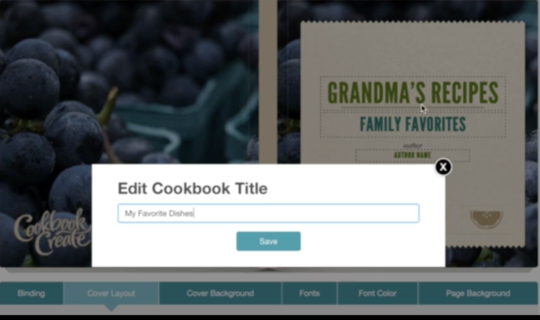 creating cookbooks on cookbook create