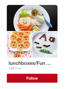 lunchboxes and fun food pinterest board