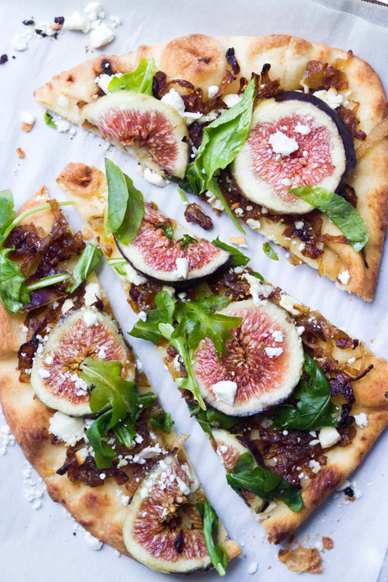 fig and caramelized onion flatbread by little broken