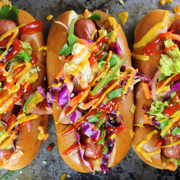 korean slaw hot dog toppings by taste and see