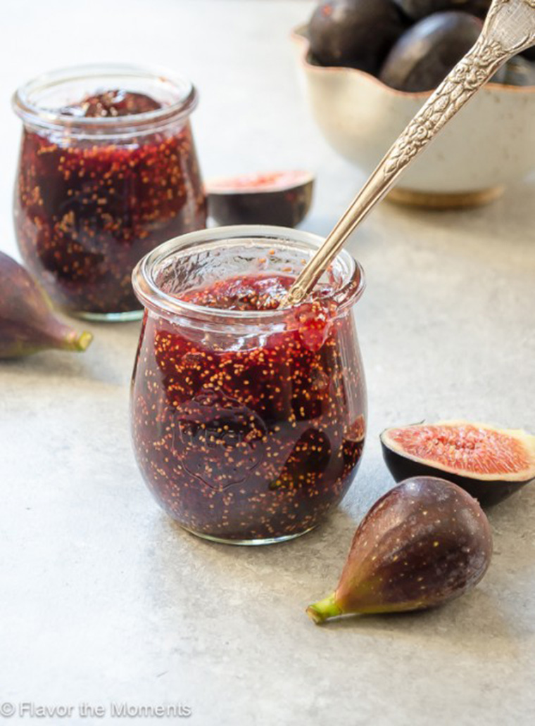 fig honey jam by flavor the moments