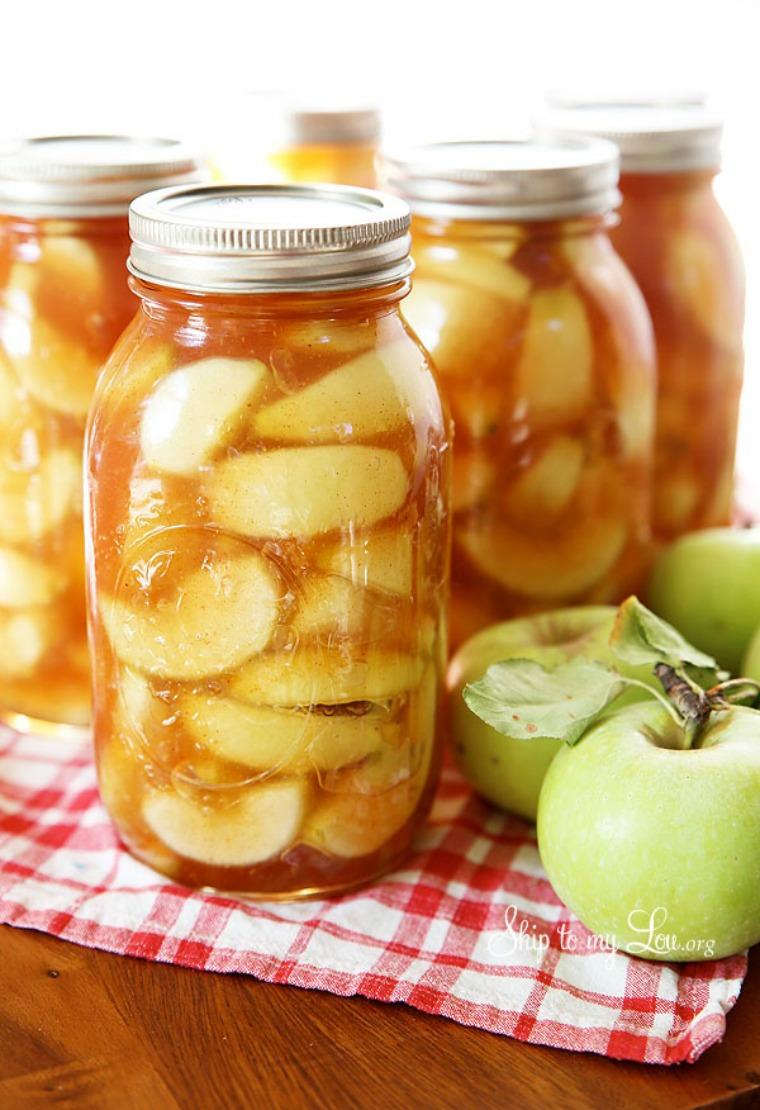 homemade canned apple pie filling skip to my lou