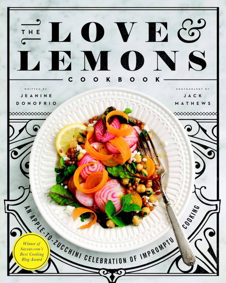 the love and lemons cookbook jeanine donofrio