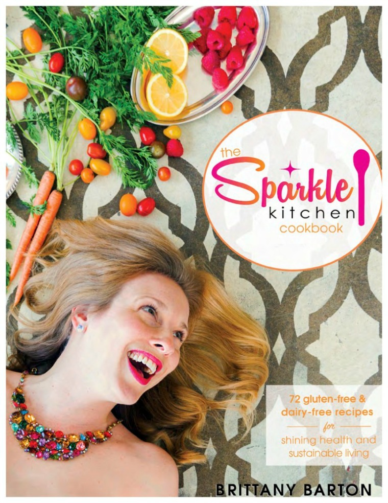 Brittany Barton Sparkle Kitchen Cookbook