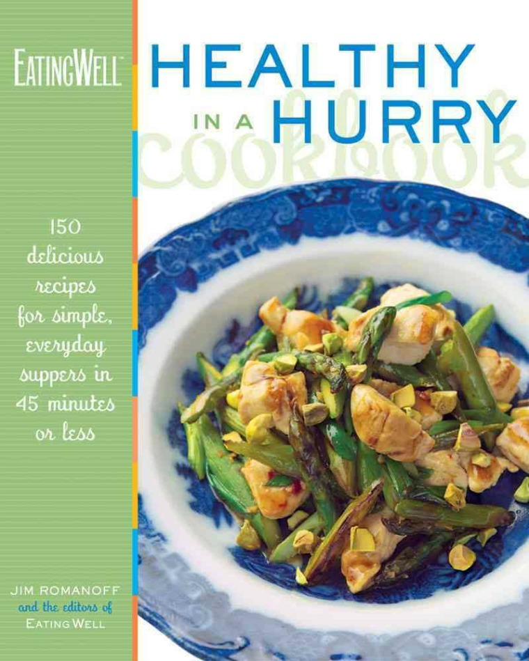 the eating well in a hurry cookbook jim romanoff