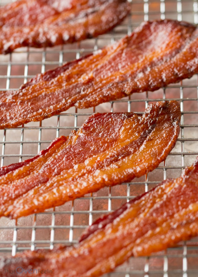 candied bacon that oven feelin