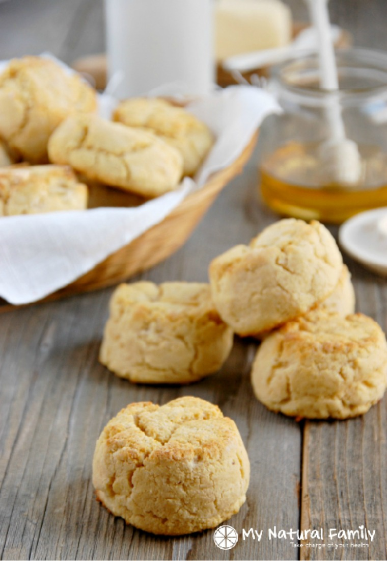paleo biscuits my natural family