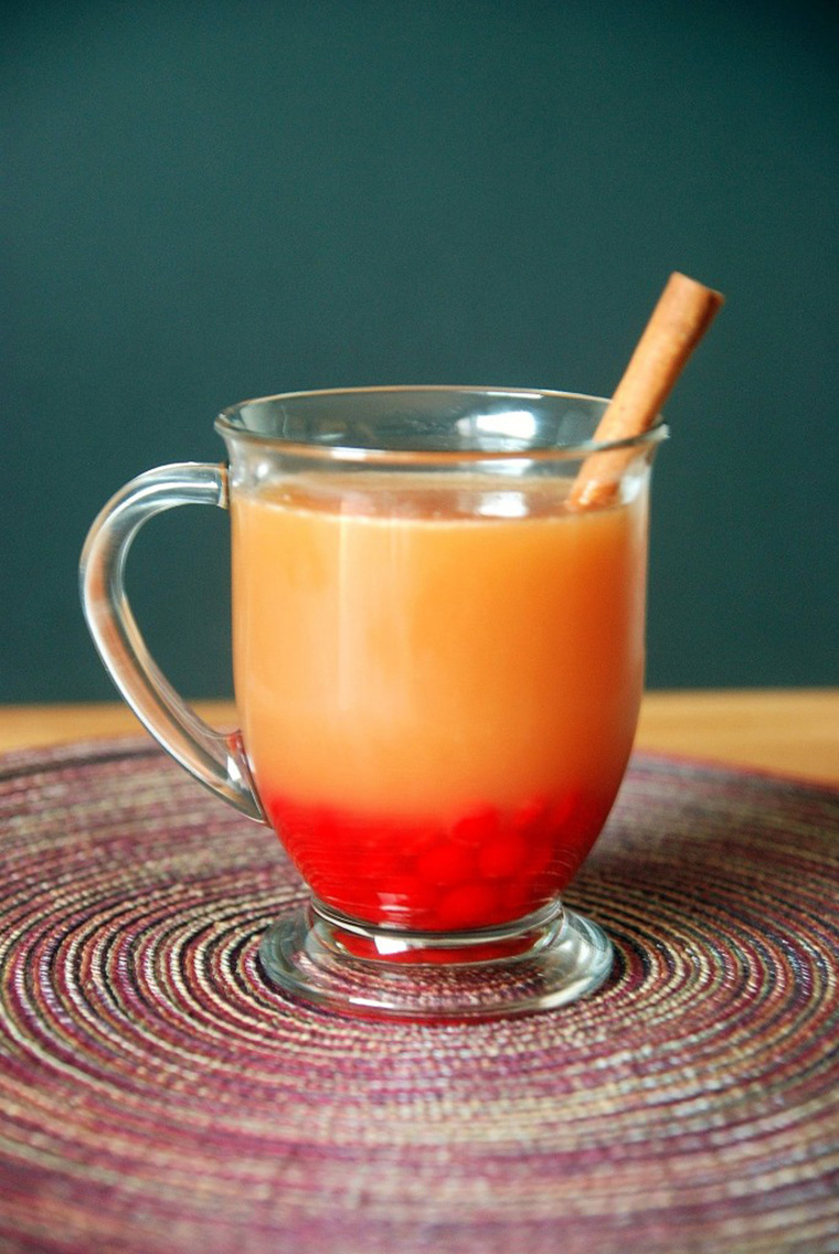 red hot apple cider by the novice chef blog