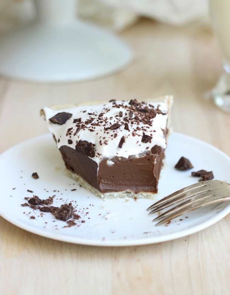 silk chocolate pie making thyme for health