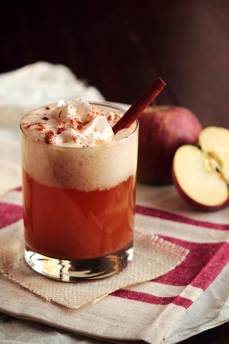 caramel apple cider by kristin at a pastry affair