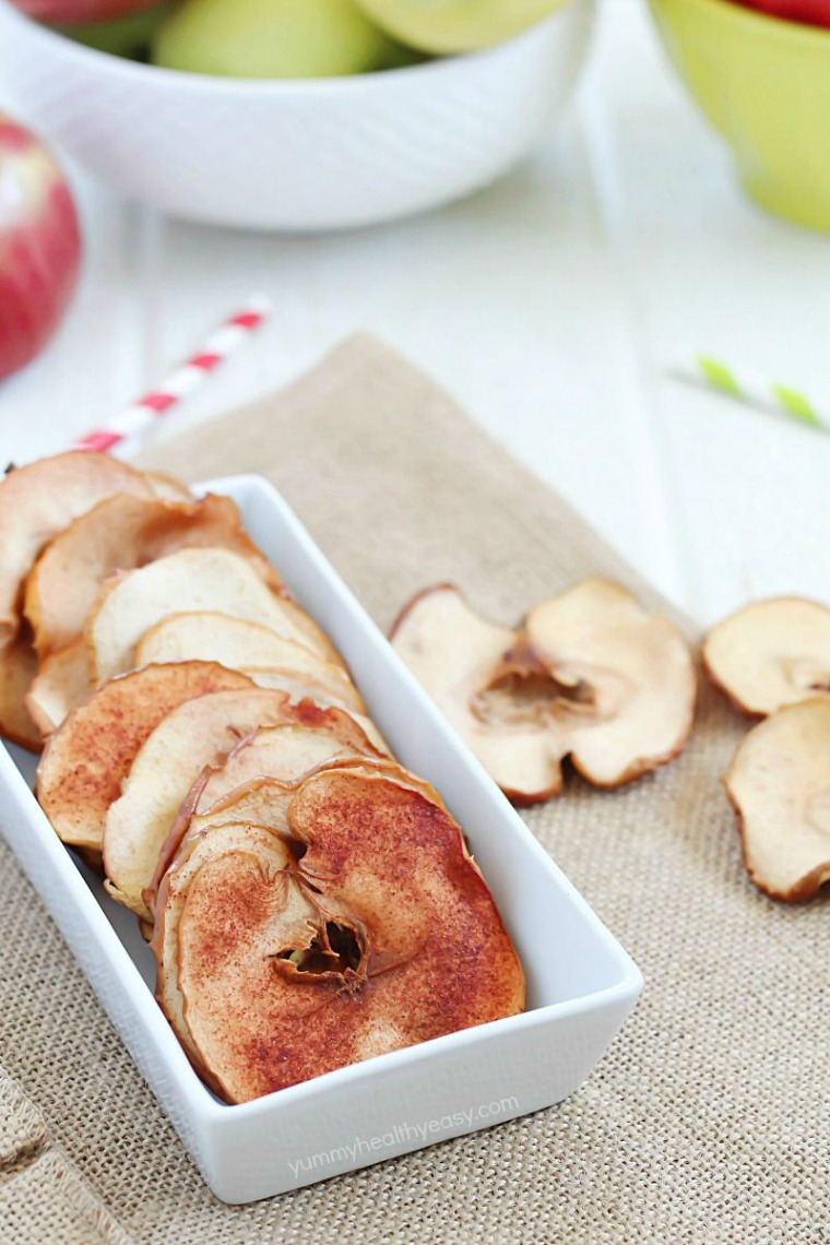 homemade apple chips yummy healthy easy