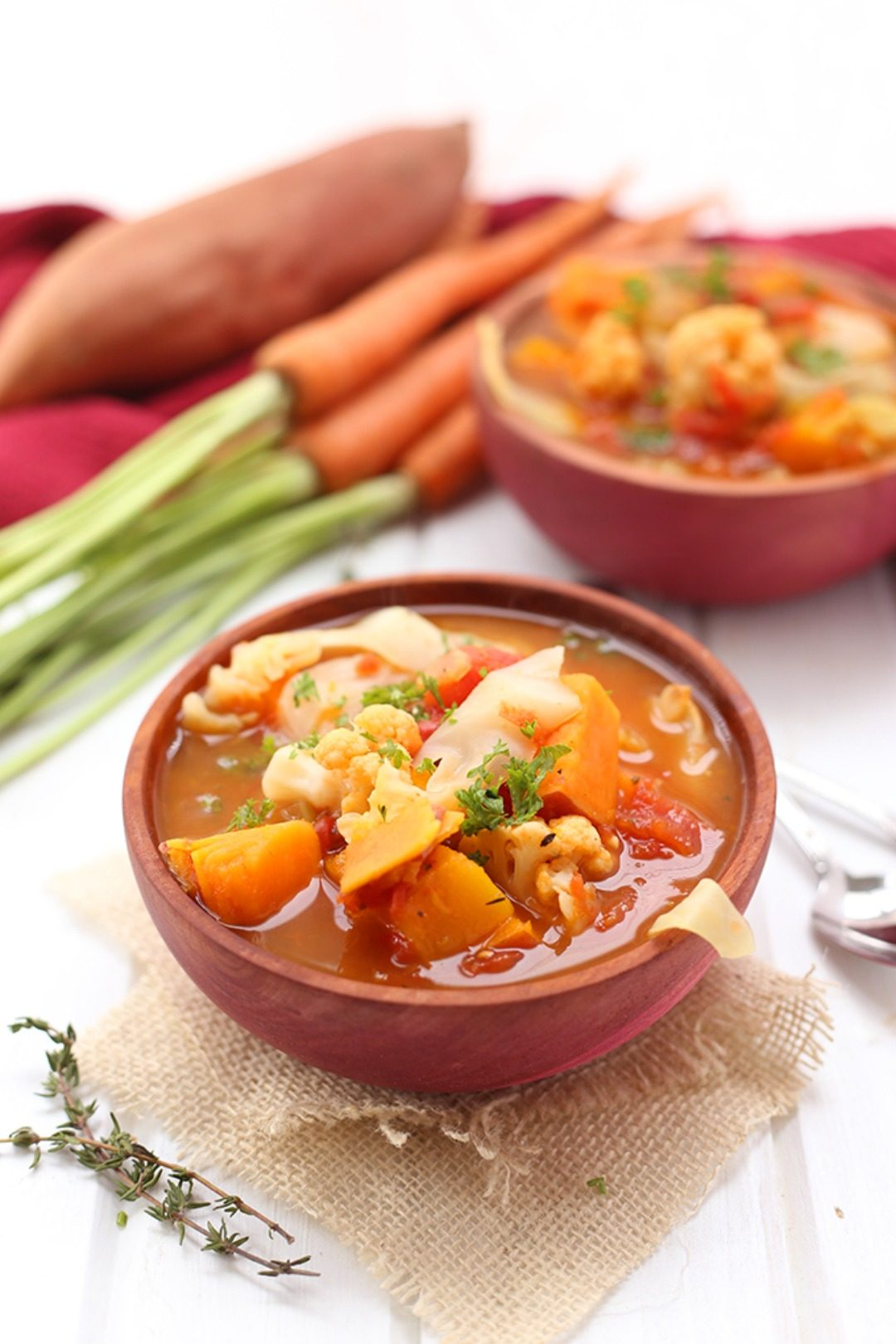 fall detox vegetable soup the healthy maven