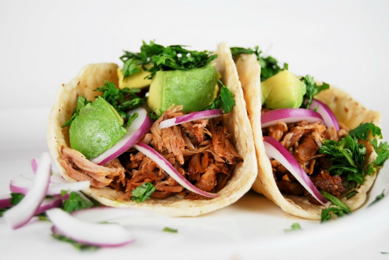 achiote roasted pork tacos gonna want seconds