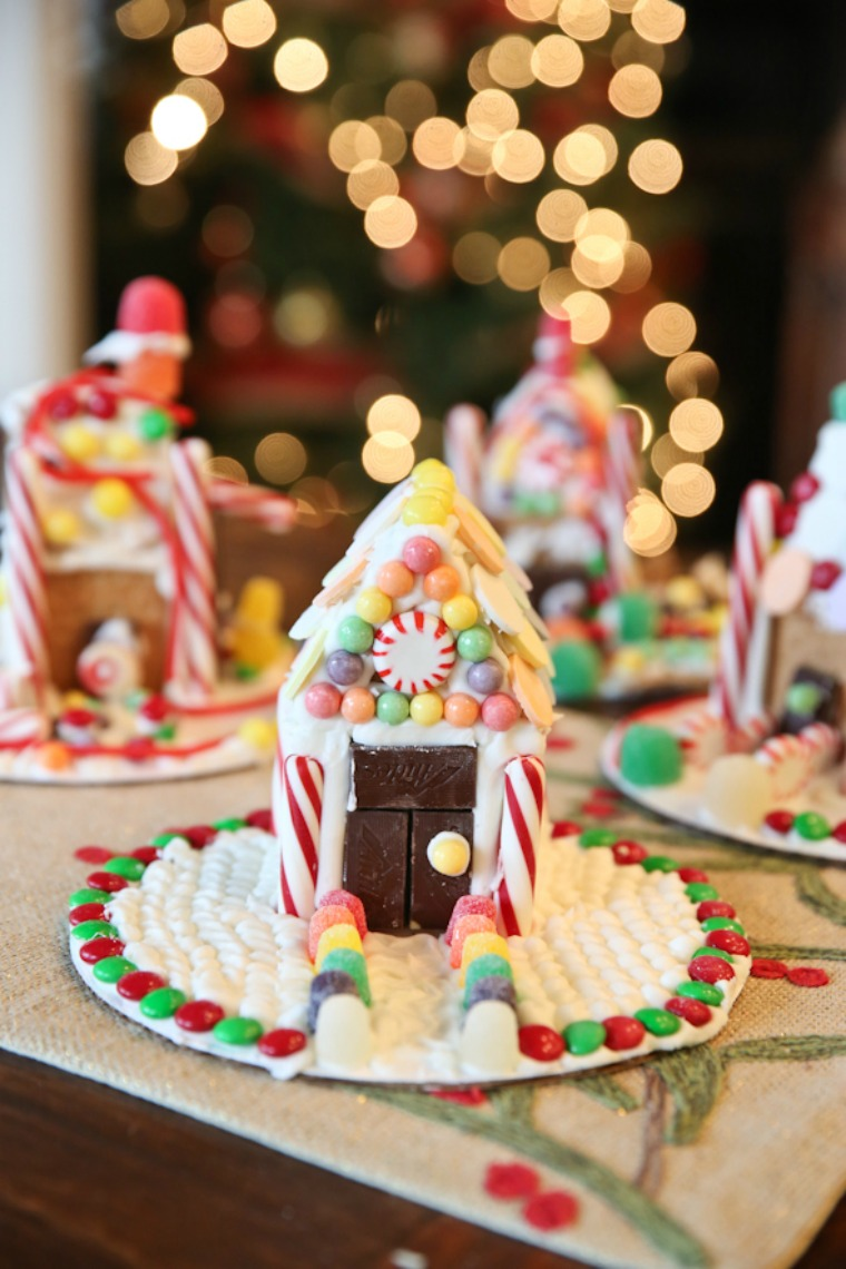 easy graham cracker gingerbread house our best bites