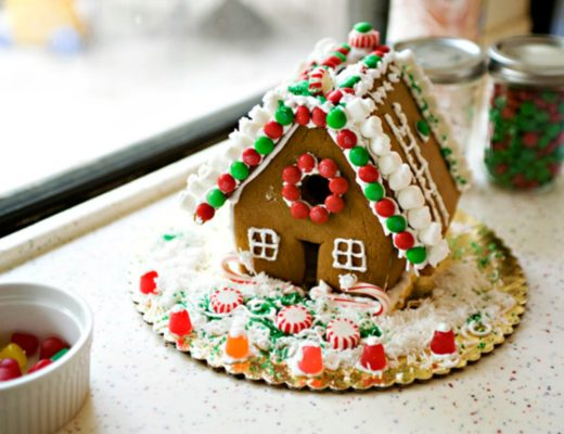 gingerbread house baked bree